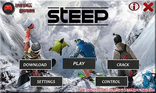 Steep Download Menu