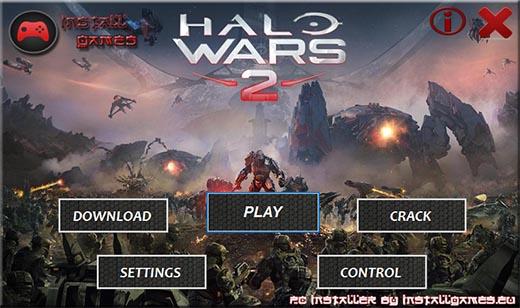 Halo Wars 2 PC Installer Download Menu
