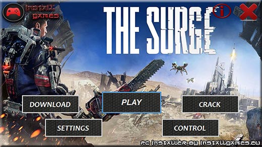 The Surge PC Menu Download