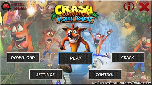Crash Bandicoot N. Sane Trilogy Installer