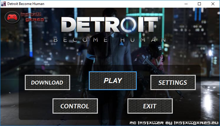 Detroit Become Human PC Installer Download